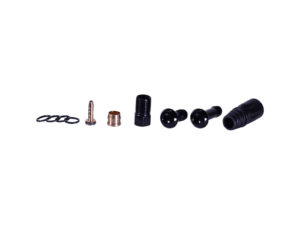 O5.5 Banjo Hose Kit Black Fittings Only